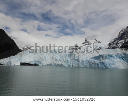 Glacier Landscape Glacier National Park Patagonia Argentina Lake Argentina mountains #1561032926