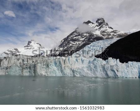 Glacier Landscape Glacier National Park Patagonia Argentina Lake Argentina mountains #1561032983