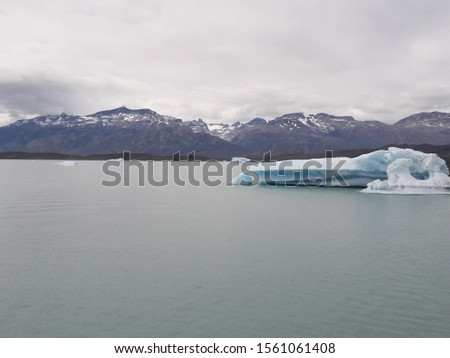 Iceberg Landscape Glacier National Park Patagonia Argentina Lake Argentina mountains #1561061408