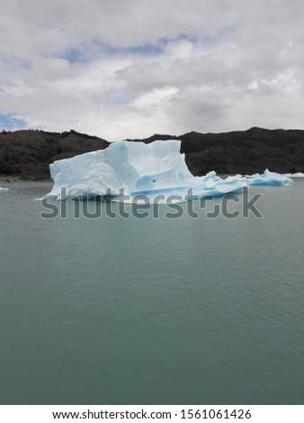 Iceberg Landscape Glacier National Park Patagonia Argentina Lake Argentina mountains #1561061426