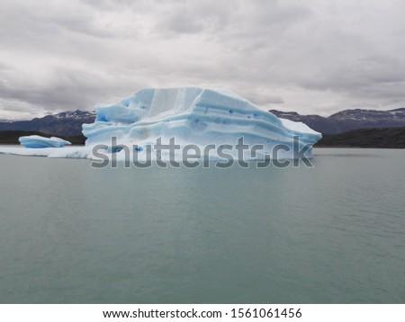 Iceberg Landscape Glacier National Park Patagonia Argentina Lake Argentina mountains #1561061456