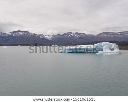 Iceberg Landscape Glacier National Park Patagonia Argentina Lake Argentina mountains #1561061513