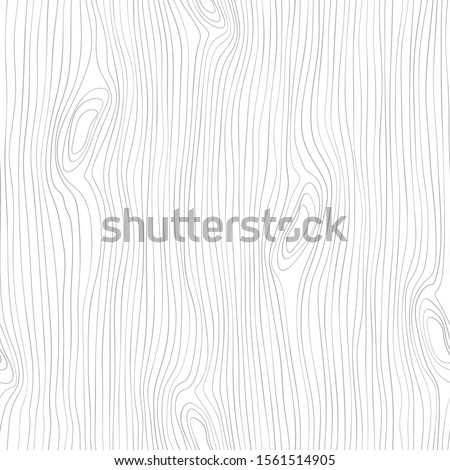 Seamless wooden pattern. Wood grain texture. Dense lines. Abstract background. Vector illustration Royalty-Free Stock Photo #1561514905