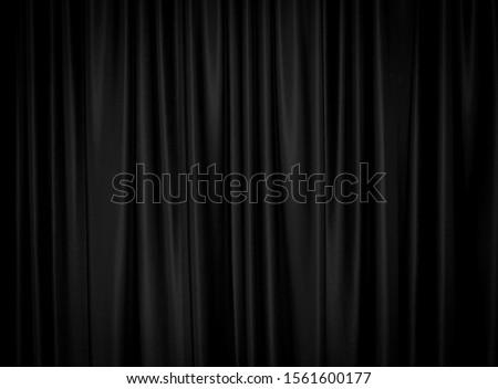 Black curtain background decoration wallpaper. #1561600177