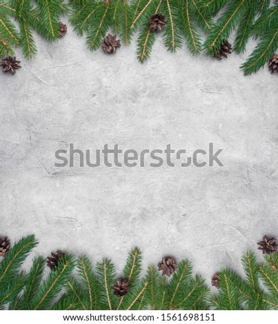 Christmas decorations on white background. #1561698151