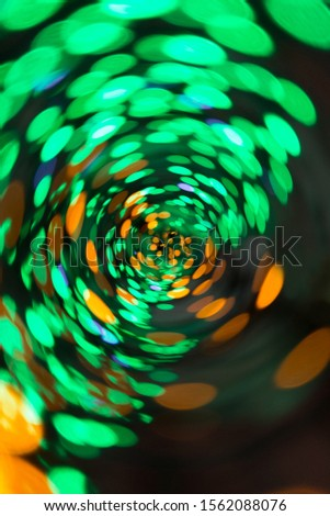 Holiday holiday bright bokeh blurred colorful background. #1562088076