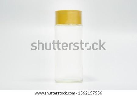 Colorless glass bottles, empty bottles, spice bottles, kitchenware #1562157556