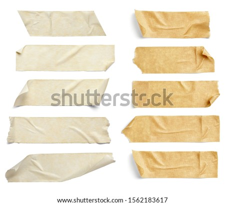 close up of an adhesive tape on white background #1562183617