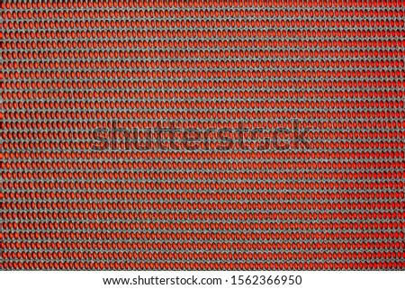 Black and Red rows of  miniature ovals pattern #1562366950