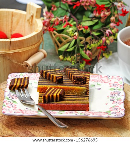 Food: cakes, layer cakes, Indonesian snack and dessert #156276695