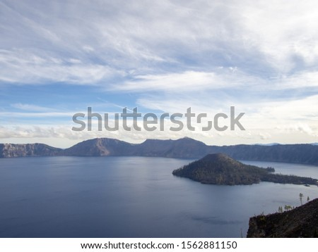 Nice Nature Lake view in Oregon #1562881150