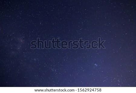 Astronomy Photo of Night Starry Sky Background