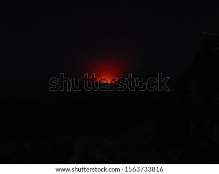 The active Erta Ale volcano glows in the dark #1563733816