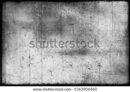 Abstract dirty or aging film frame. Dust particle and dust grain texture or dirt overlay use effect for film frame with space for your text or image and vintage grunge style.