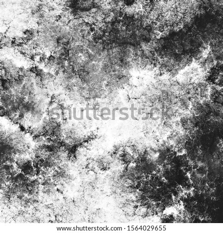 Grey grunge splashes texture. Abstract painting pattern. Background for creative graphic design.  Fractal art #1564029655
