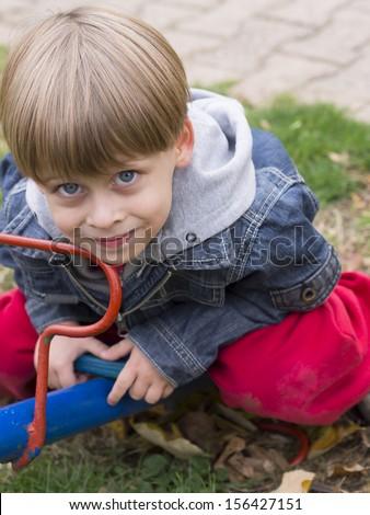 boy on the playground,  #156427151