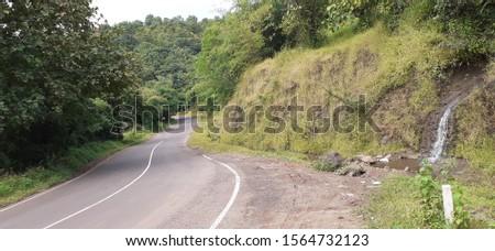 Country side road in rural, highway in rural #1564732123