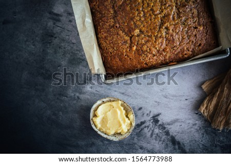 Home Made Pumpkin Bread with Butterscotch Morsels #1564773988