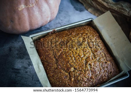 Home Made Pumpkin Bread with Butterscotch Morsels #1564773994