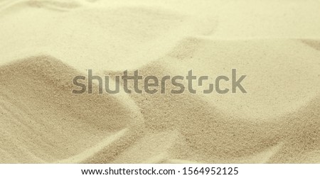 Golden Sand on the beach as background. Sand Texture. Golden sand. Background from fine sand. #1564952125