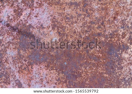 Old rusty metal background, rusty metal texture #1565539792