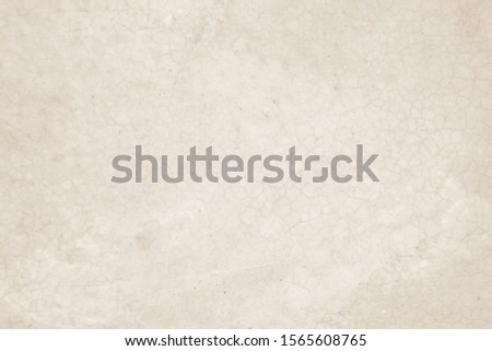 Cream concreted wall for interiors or outdoor exposed surface polished concrete. Cement have sand and stone of tone vintage, natural patterns old antique, design art work floor texture background. #1565608765