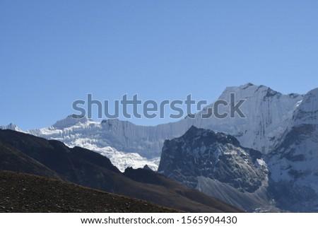 traveling in Nepal   on  Gokyo Everest  treking 2019 #1565904430