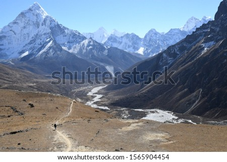 traveling in Nepal   on  Gokyo Everest  treking 2019 #1565904454