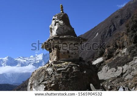 traveling in Nepal   on  Gokyo Everest  treking 2019 #1565904532