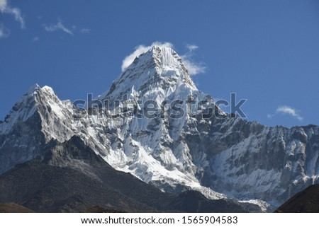 traveling in Nepal   on  Gokyo Everest  treking 2019 #1565904583
