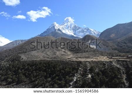 traveling in Nepal   on  Gokyo Everest  treking 2019 #1565904586