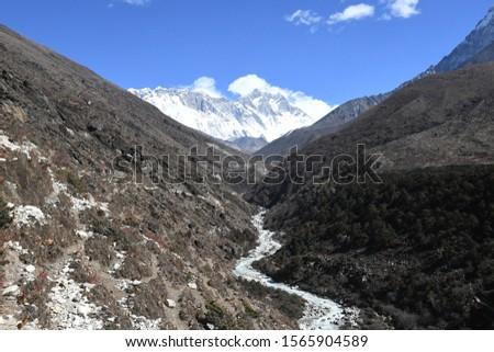 traveling in Nepal   on  Gokyo Everest  treking 2019 #1565904589