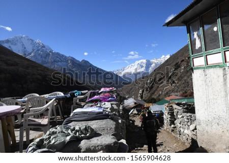 traveling in Nepal   on  Gokyo Everest  treking 2019 #1565904628