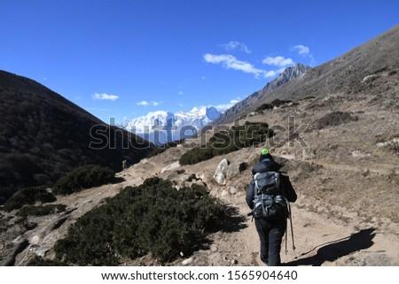 traveling in Nepal   on  Gokyo Everest  treking 2019 #1565904640