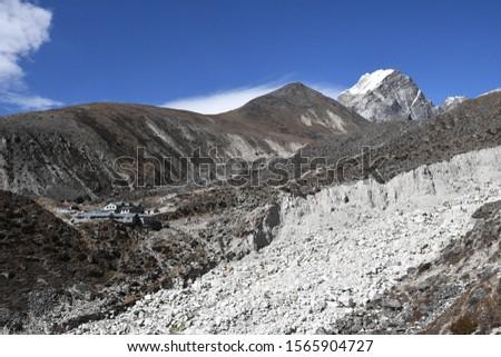 traveling in Nepal   on  Gokyo Everest  treking 2019 #1565904727