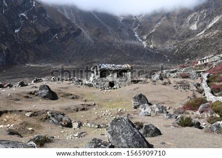 traveling in Nepal on Gokyo Everest treking 2019 #1565909710