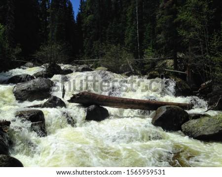 Waterfall trail in Estes Park #1565959531