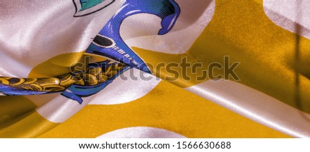 Texture, background, pattern, postcard, silk fabric, yellow sunglow white ovals, your projects will not go unnoticed with this fabric, buying this weave will awake the best #1566630688