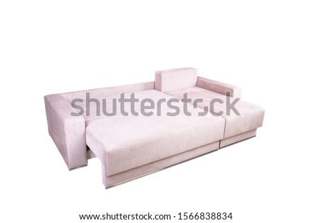 Sleeping beige sofa.Sleeping beige sofa #1566838834