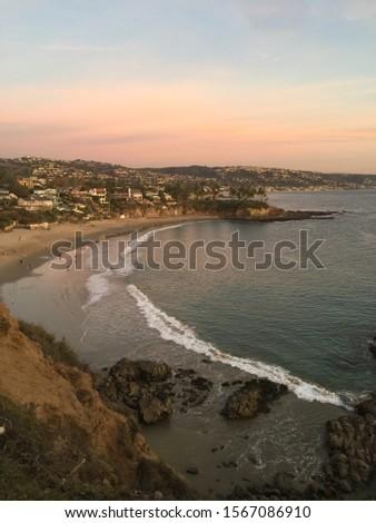Beautiful sunset at the beach  #1567086910