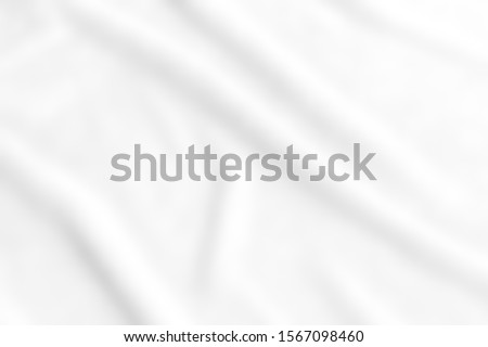 abstract smooth elegant white fabric texture background,flowing satin waves #1567098460