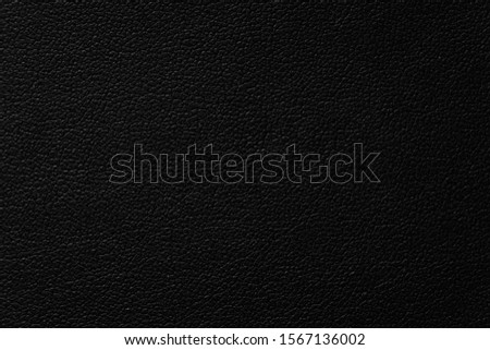 beautiful black leather texture background, close up detail of flat leather dark black color, background of beautiful animal skin black color texture, seamless of leather style dark color #1567136002