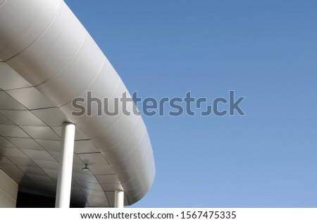 exterior of exterior building with curves #1567475335