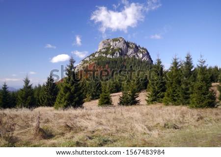A view of Malý Rozsutec mountain in Malá Fatra, Slovakia #1567483984