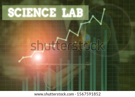 Word writing text Science Lab. Business concept for special facility where experiments are done and with equipment. #1567591852