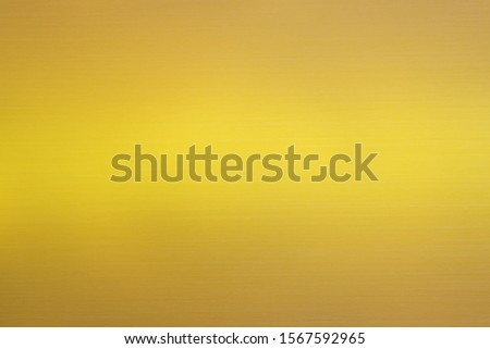Gold gradient abstract background with soft glowing backdrop texture for christmas, valentine, holiday and festive holographic media. Gold blurred gradient smooth colorful illustration background. #1567592965