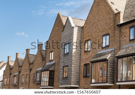 Building exteriors in a residential district in London #1567650607