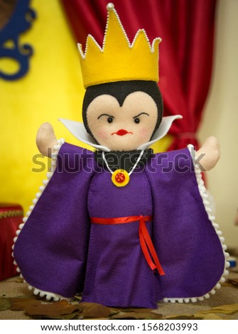 Handcraft Snow White Witch Doll