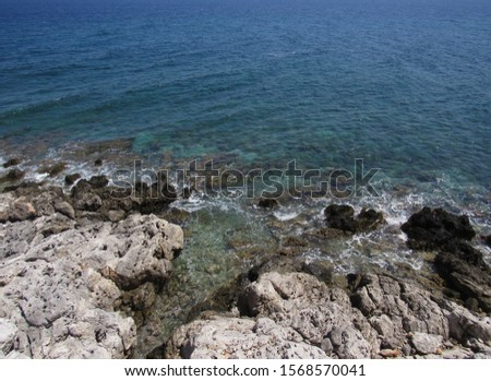 A cliff side picture taken in Greece #1568570041