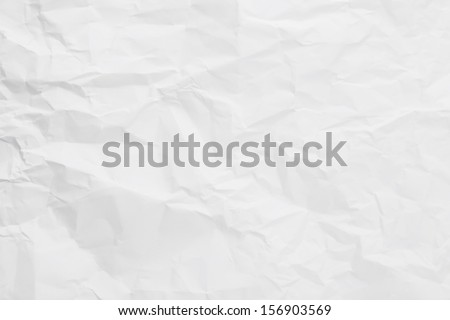 White creased paper background texture Royalty-Free Stock Photo #156903569